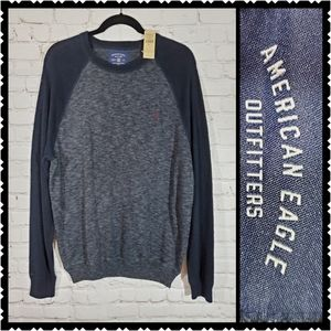 NWT American Eagle Mens large cotton sweater